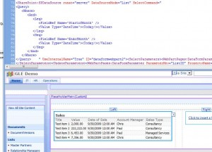 Query in Code & Results in Design View