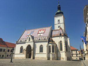 Zagreb - St Marks Church