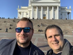 Jussi Mori and Paul Hunt - Helsinki Cathedral