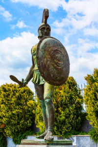 Kind Leonidas who led the Spartans at the Battle of Thermopylae that features in this post about my SPC20 session